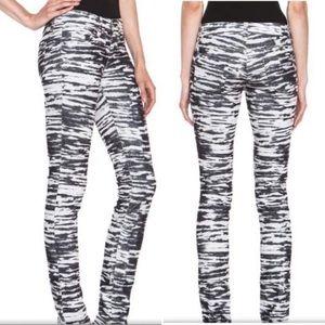 ISABEL MARANT ETOILE Zebra Print Corduroy Pant